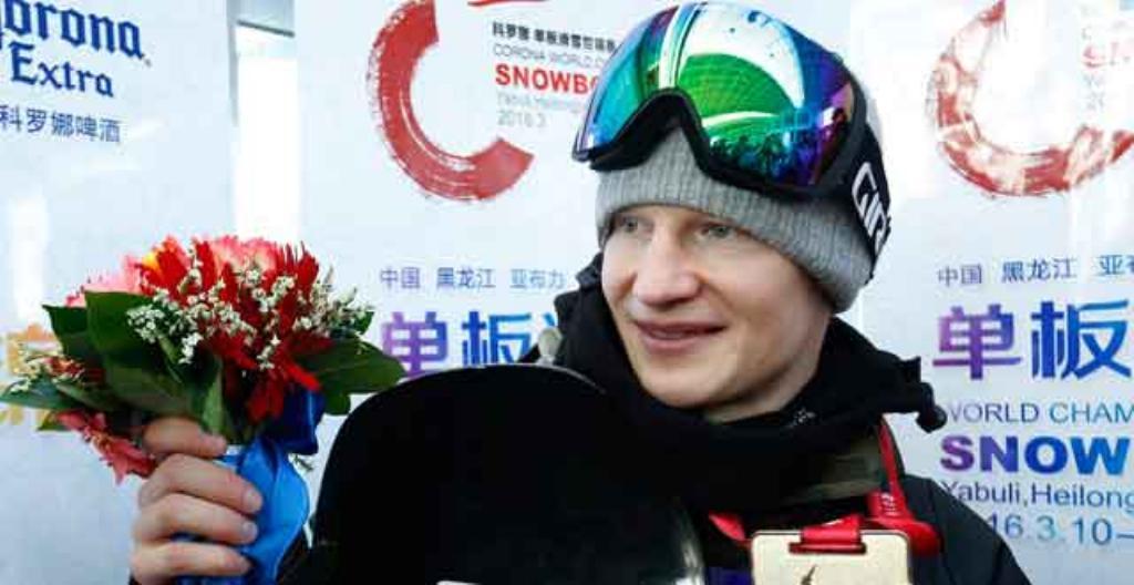 Peetu Piiroinen voitti MM-kultaa lumilautailussa.