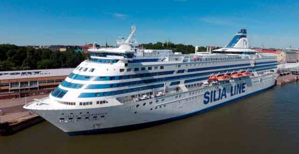 Silja Linen ruotsinlaiva