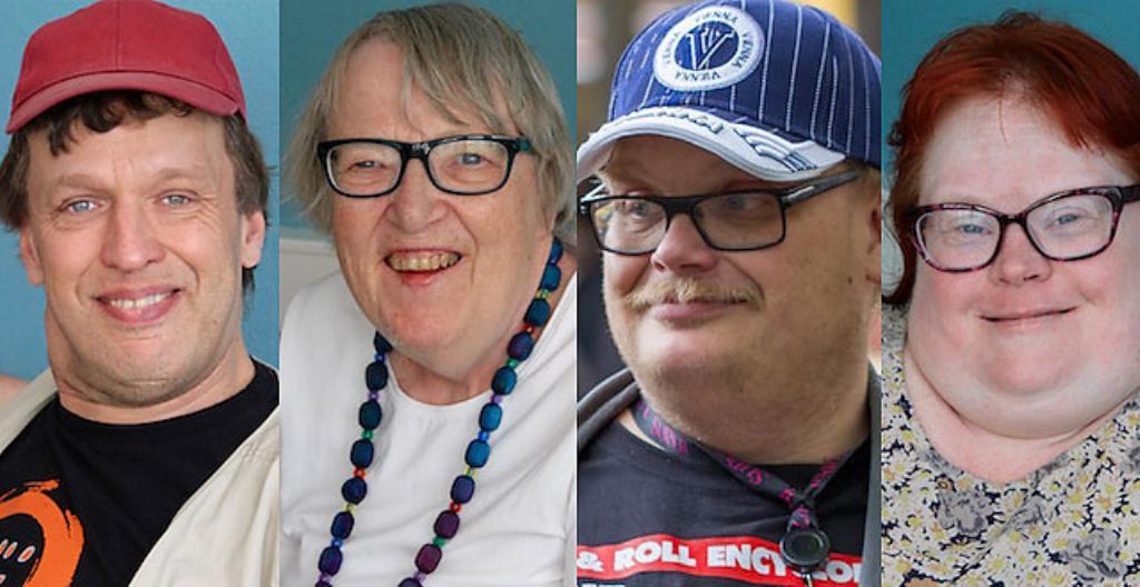 Jari Nordström, Ulla Viljanen, Sami Helle ja Mia Puttonen