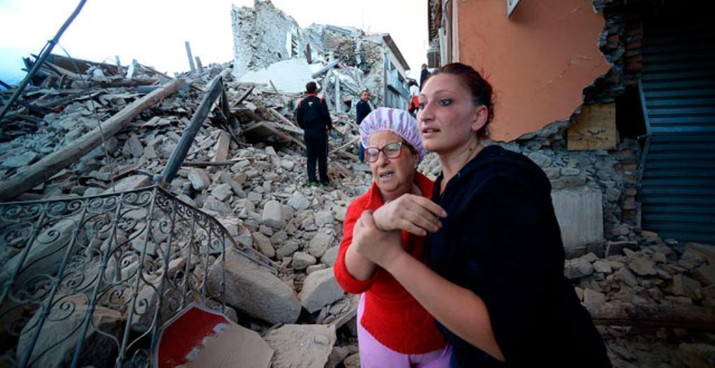 Maanjäristyksen tuhoja