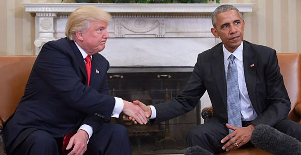 Donald Trump ja Barac Obama