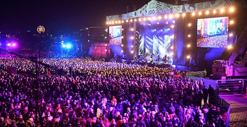 Suomi 100 -avajaisjuhla Helsingissä