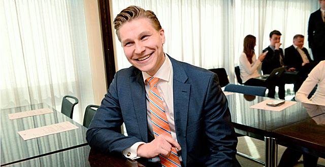 Antti Häkkänen on uusi oikeusministeri.