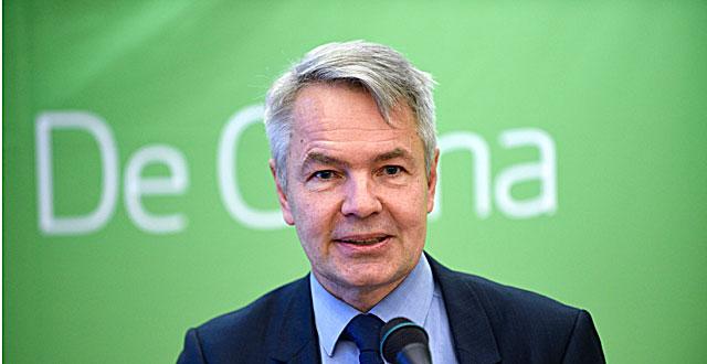 Vihreiden ehdokas on Pekka Haavisto.