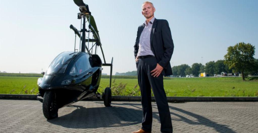 Lentävä auto ja Robert Dingemanse.