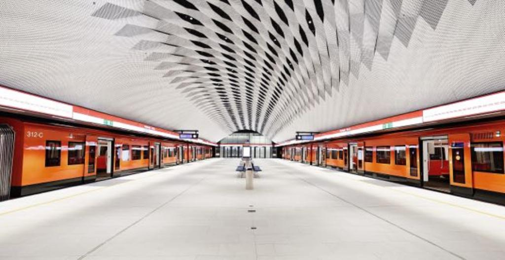 Matinkylän metroasema Espoossa.