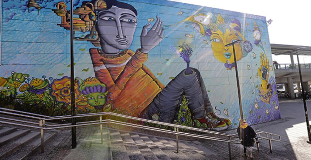 Seinämaalaus eli muraali