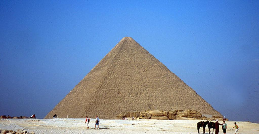 Gizan pyramidit Egyptissä