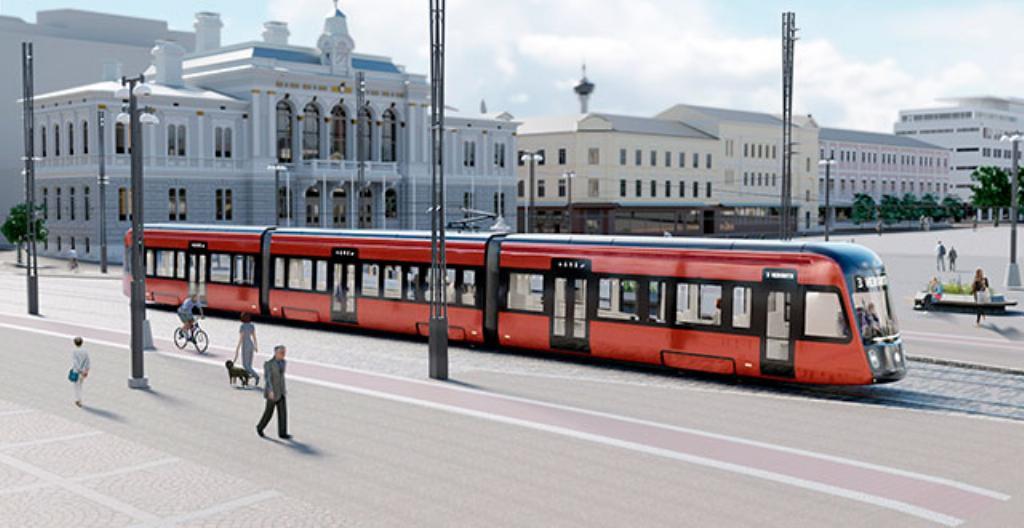 Tältä näyttää Tampereen Keskustori vuonna 2021.