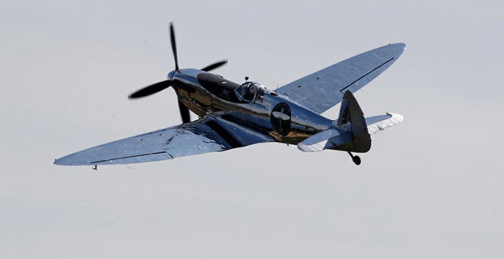 Tätä hävittäjälentokonetta käytettiin toisessa maailmansodassa.