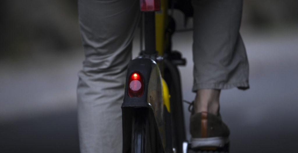 Polkupyörän takavalo on nykyään pakollinen.