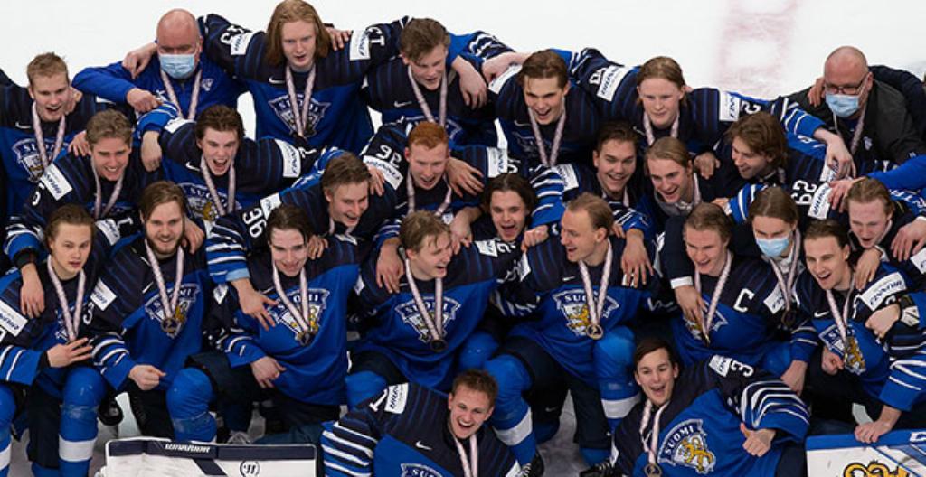 Suomen pronssijoukkue.