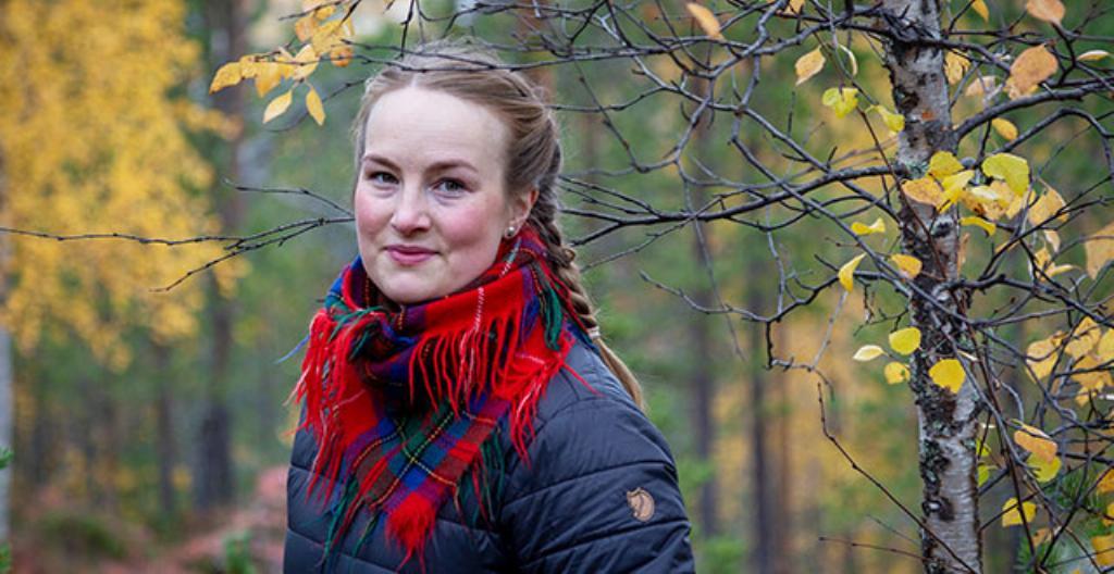 Johanna Alatorvinen palasi kotiseudulleen Inarin Koppeloon.