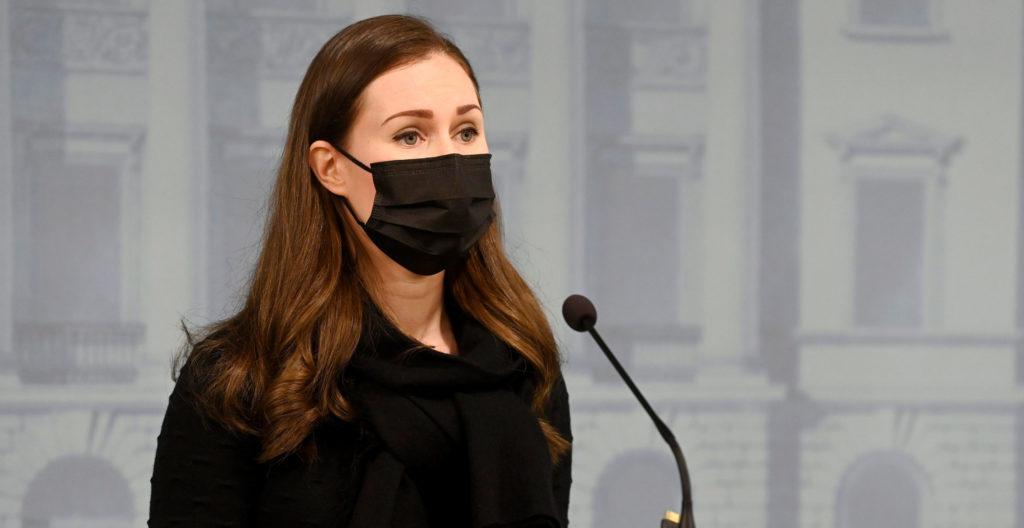 Pääministeri Sanna Marin kertoi uusista koronarajoituksista.